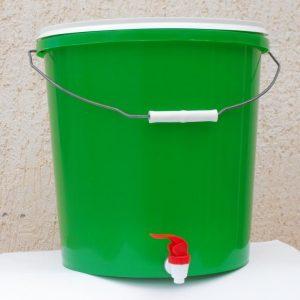 ЭМ компостер 15 л с краником ведро для компостирования
