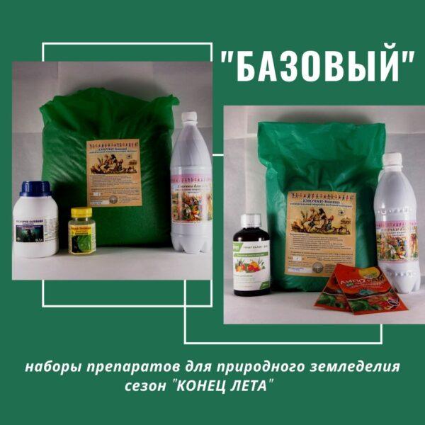 НАБОР препаратов БАЗОВЫЙ для сезона Конец лета