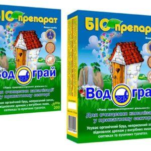 ВОДОГРАЙ биодеструктор