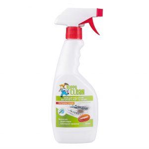 Бесфосфатное средство для УДАЛЕНИЯ ЗАСТАРЕВШЕГО ЖИРА И НАГАРА Happy Clean с ароматом АПЕЛЬСИНА