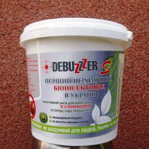 био-инсектицид  Диатомит DEBUZZZER-S от слизней и улиток