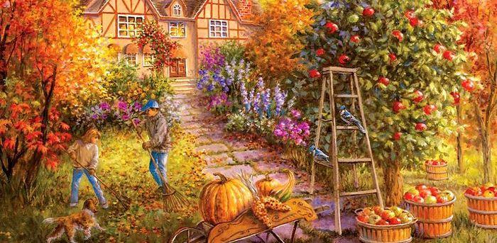 Осенняя обработка сада в природном земледелии